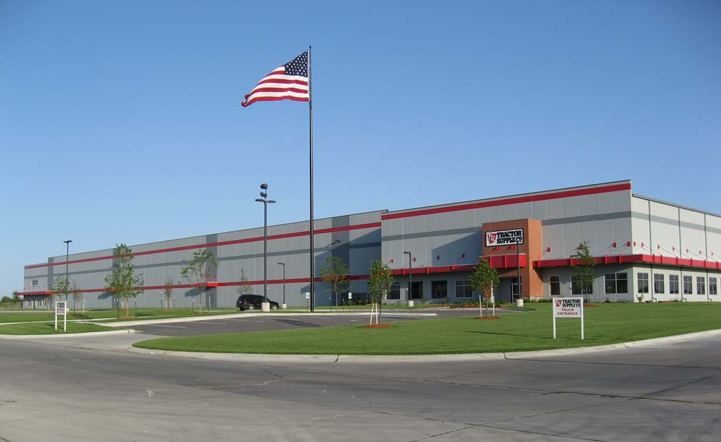 Anderson Ford Lincoln Ne >> Tractor Supply Company Distribution Center & Offices - Davis Design