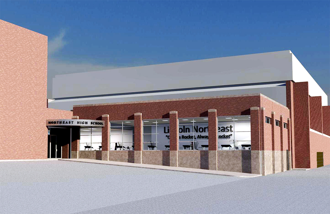 Northeast High School Fitness Addition - Davis Design