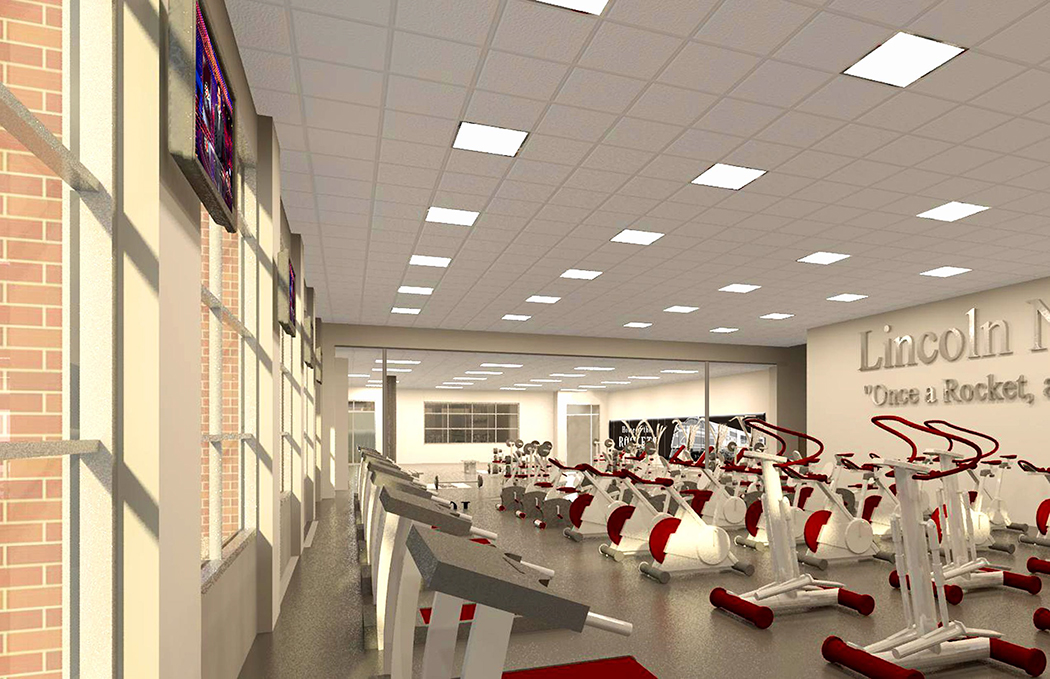 Northeast High School Fitness Addition Davis Design